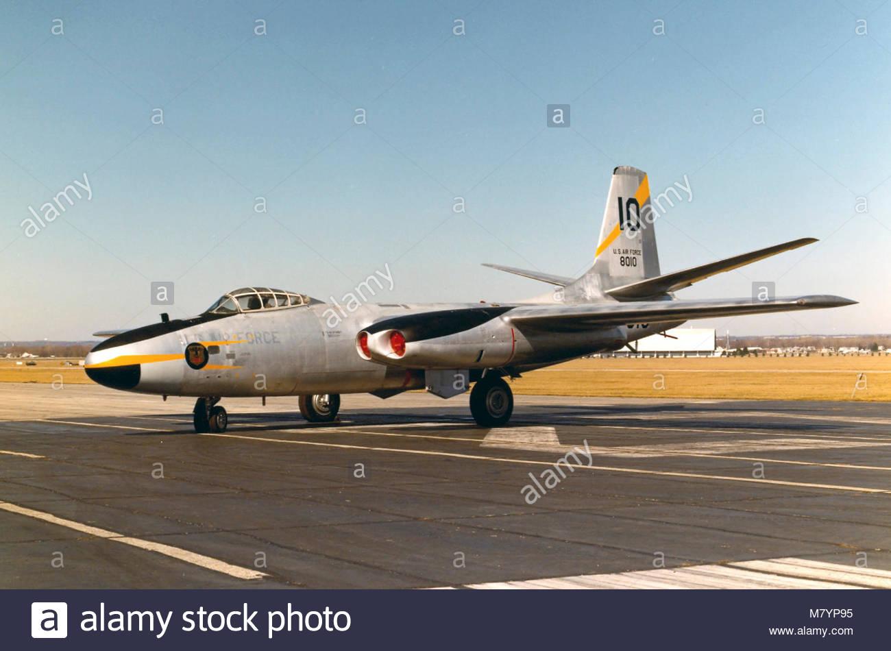North American B-45C Tornado. (sn 48-010)- - Stock Image