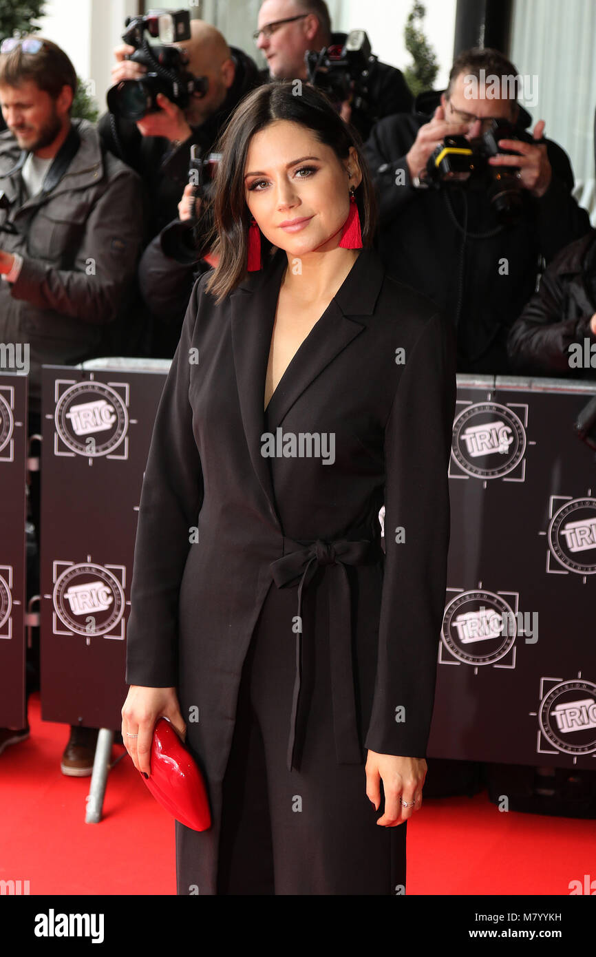 London, UK. 13th March, 2018. Lilah Parsons, TRIC awards, Grosvenor House Hotel, London UK, 13 March 2018, Photo - Stock Image
