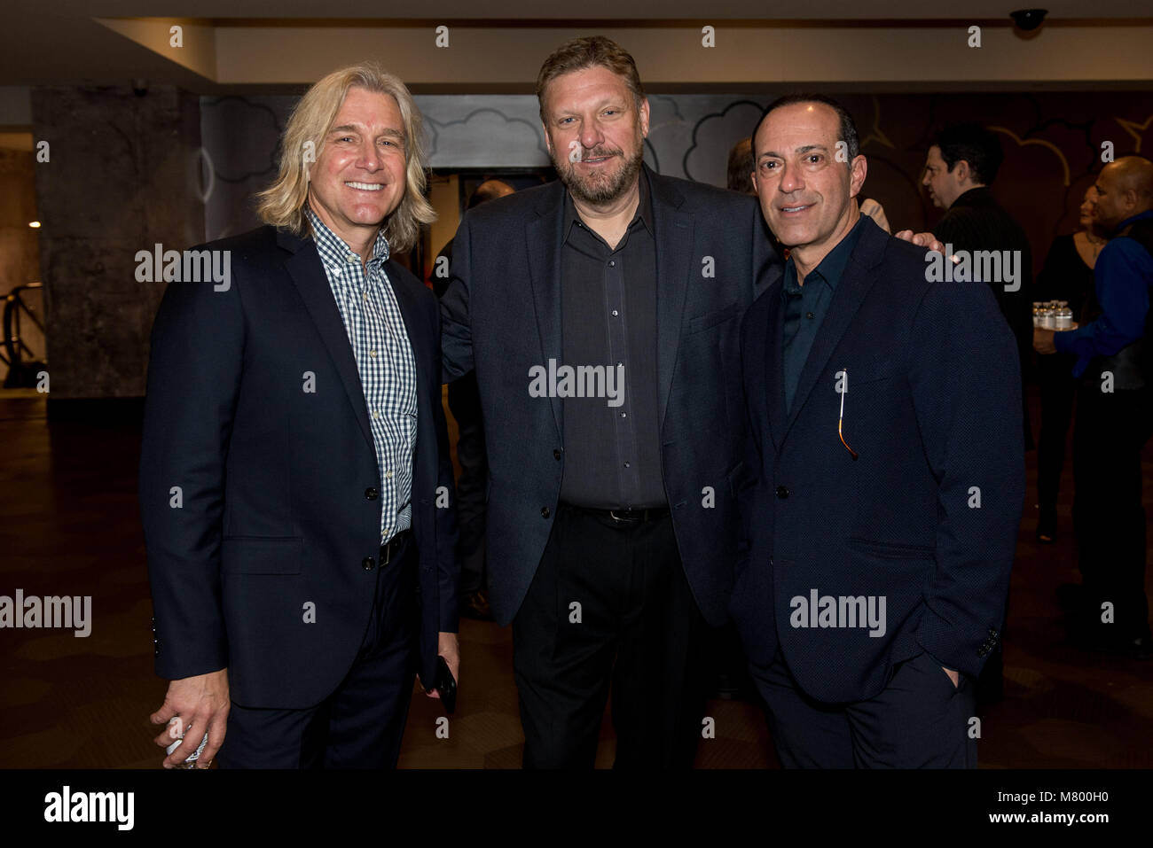 Las Vegas, NV, USA. 13th Mar, 2018. ***HOUSE COVERAGE*** Lindsay Fellows, Dan Byrn, Ken Raasch pictured Lollapalooza - Stock Image