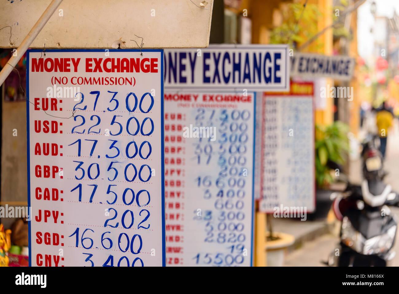 Bureau de change money exchange stock photos & bureau de change