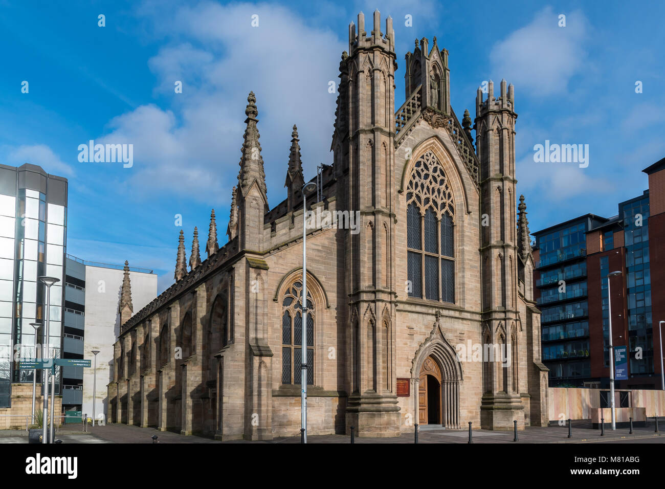 St Andrew's Cathedral in Glasgow - Stock Image