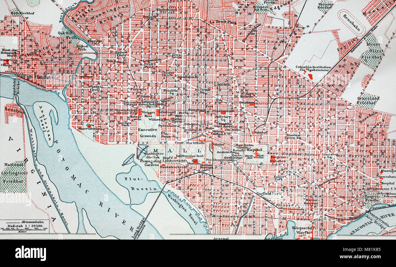 Picture of: Washington Road Map High Resolution Stock Photography And Images Alamy
