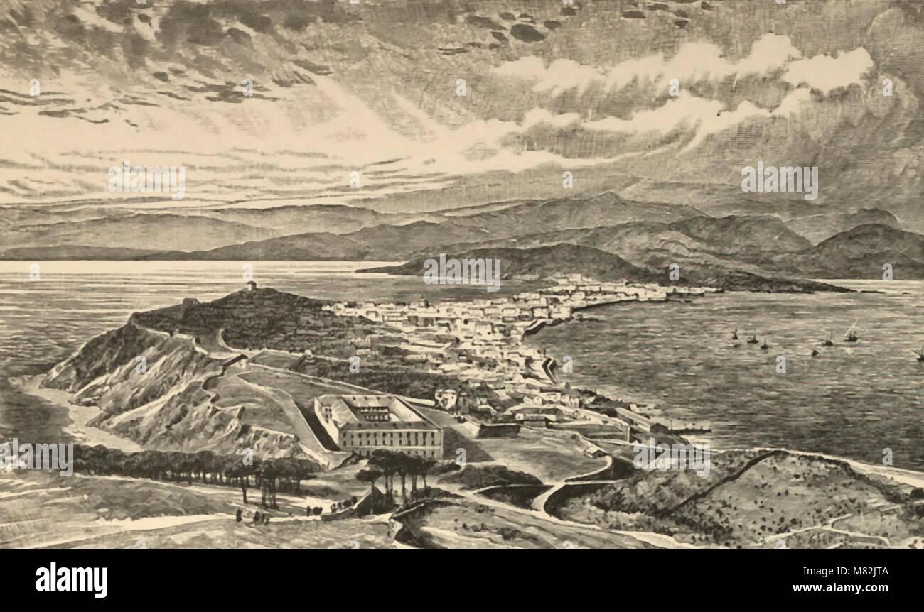 Ceuta - Spain's Possession in Morocco - Stock Image