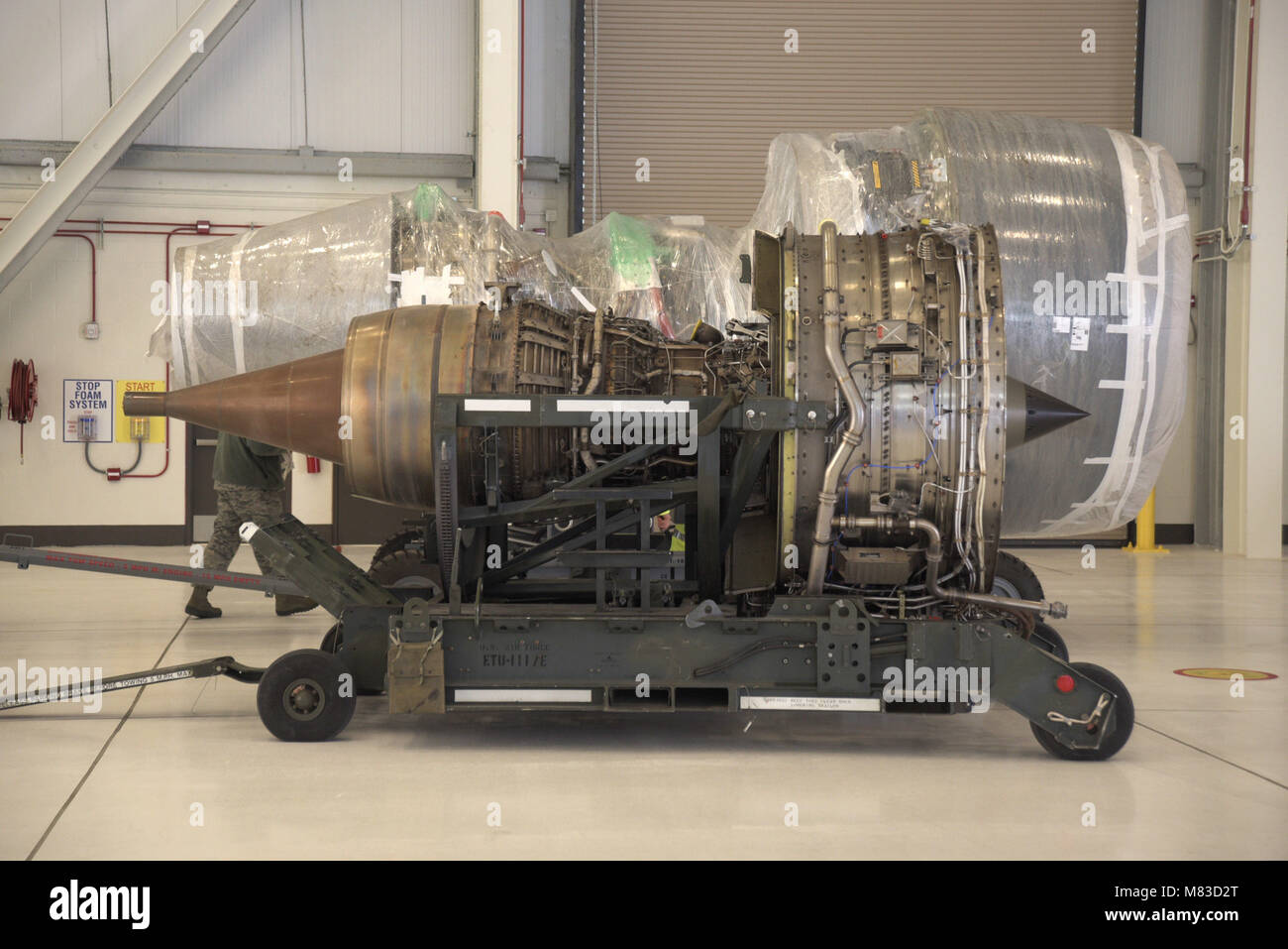 Kc 46 Stock Photos Images Alamy 135 Engineering Schematics A Stratotanker Engine Sits In Front Of New Pegasus
