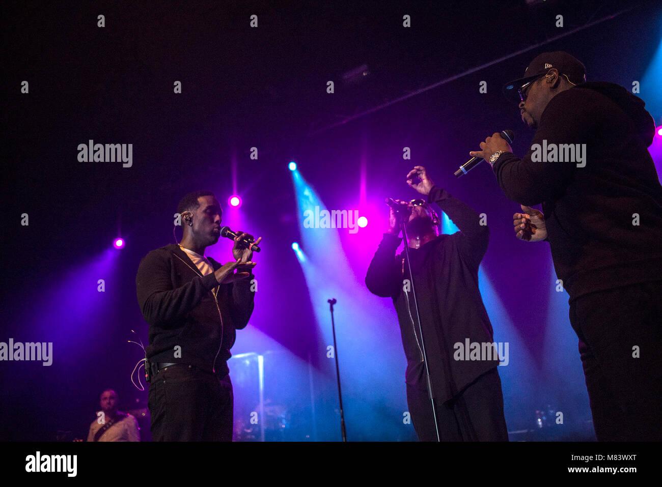 Boyz II Men at Manchester Academy - Stock Image