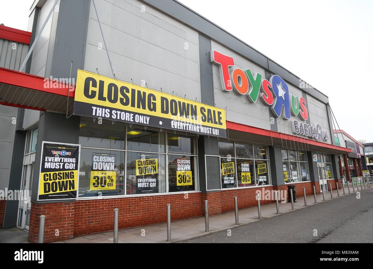 Toysrus Sale Store Stock Photos Toysrus Sale Store Stock Images