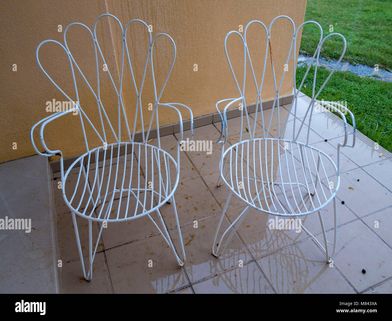Cast Iron Chairs Stock Photos & Cast Iron Chairs Stock Images - Alamy