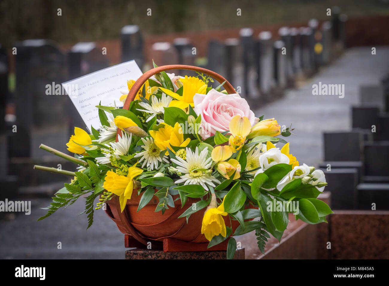 Funeral Flowers Mum Stock Photos Funeral Flowers Mum Stock Images