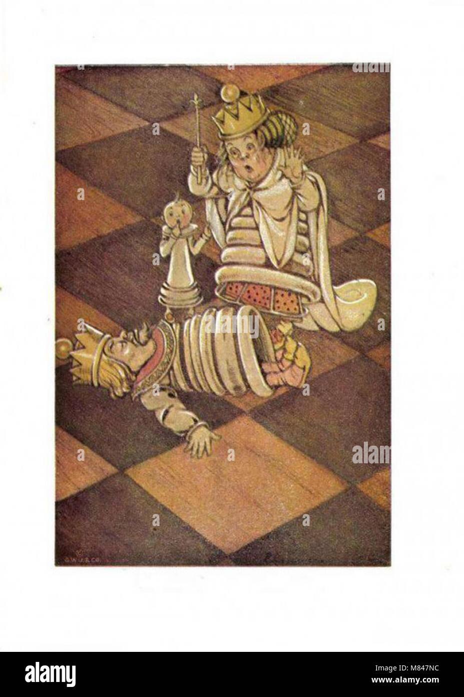 Elenore Plaisted Abbot vintage illustration - Stock Image