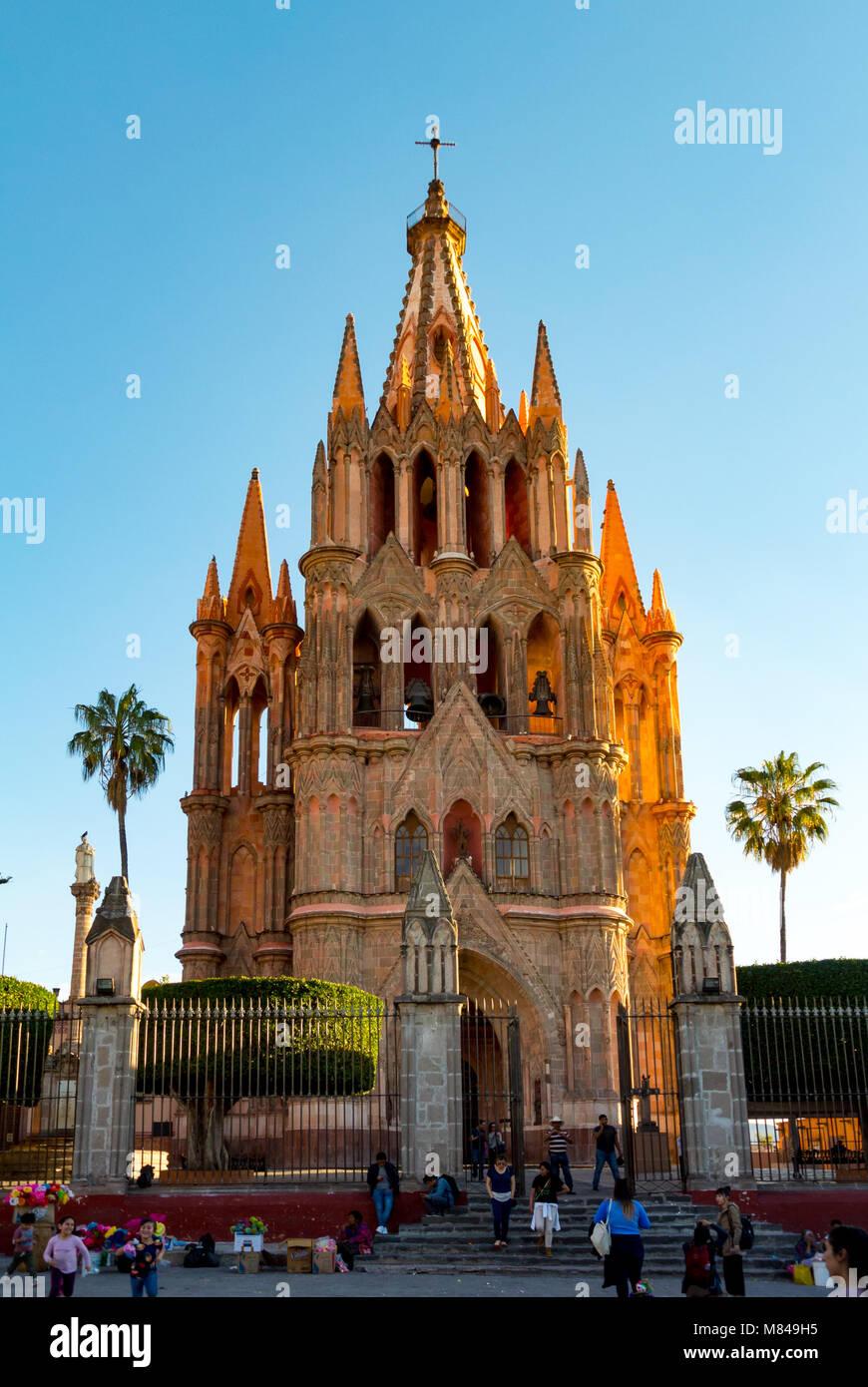 The Church Of La Parroquia De San Miguel Arcangel San Miguel De