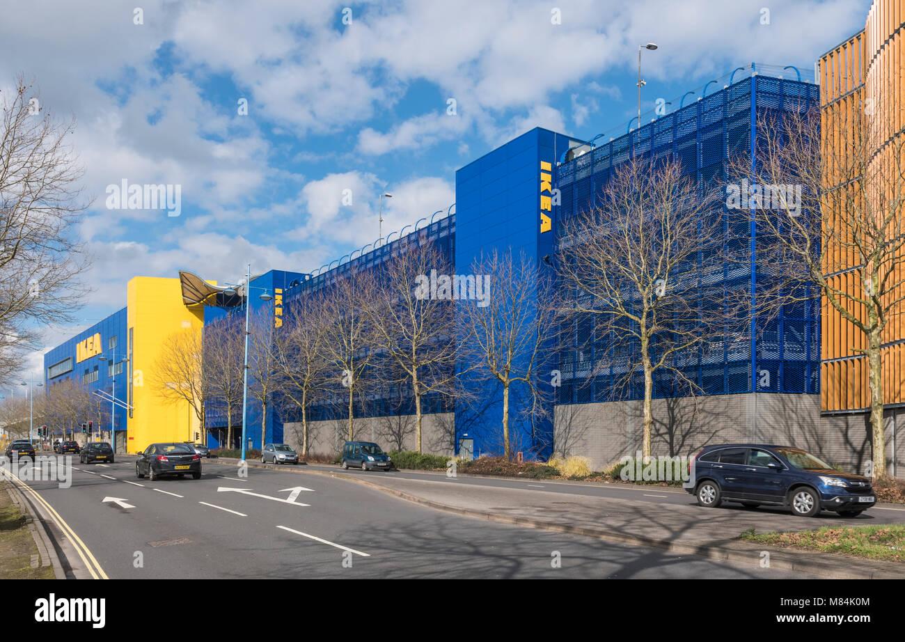 Ikea store in West Quay Road, Southampton, Hampshire, England, UK. - Stock Image