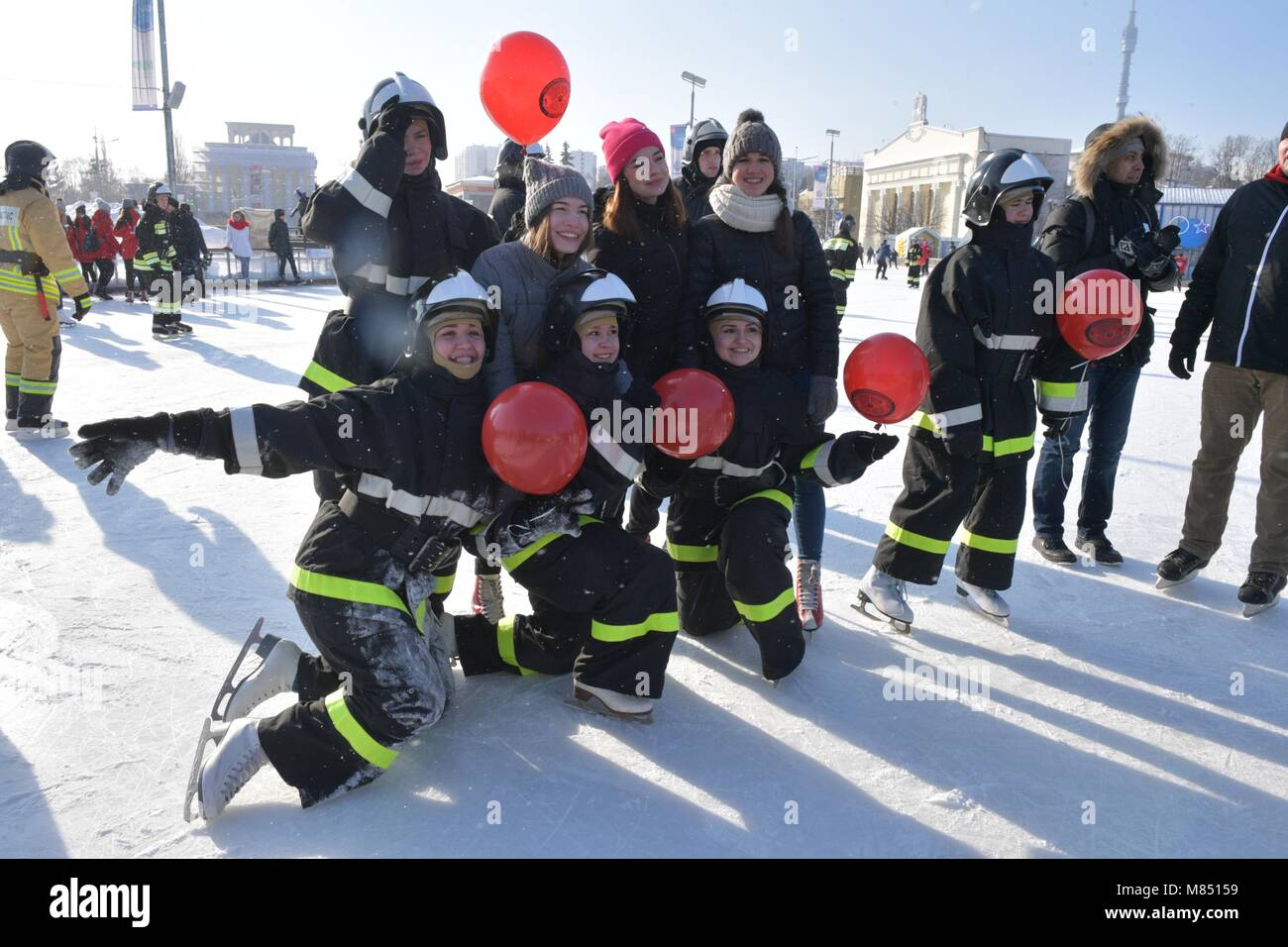 February 24, 2018  - Russia, Moscow  - Opening of the 7th