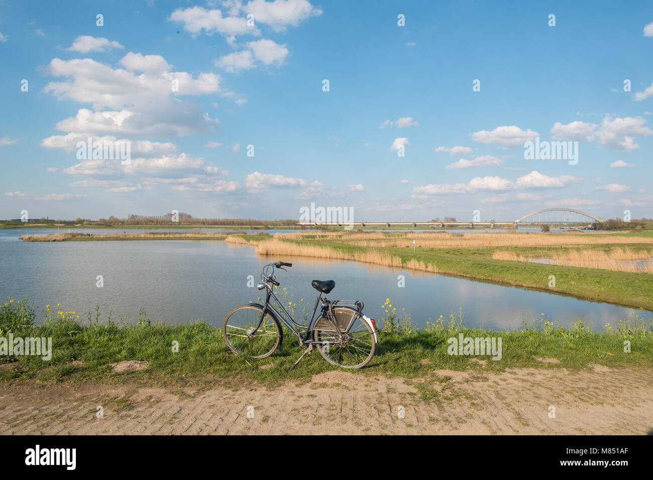 Spring in the Netherlands. - Stock Image