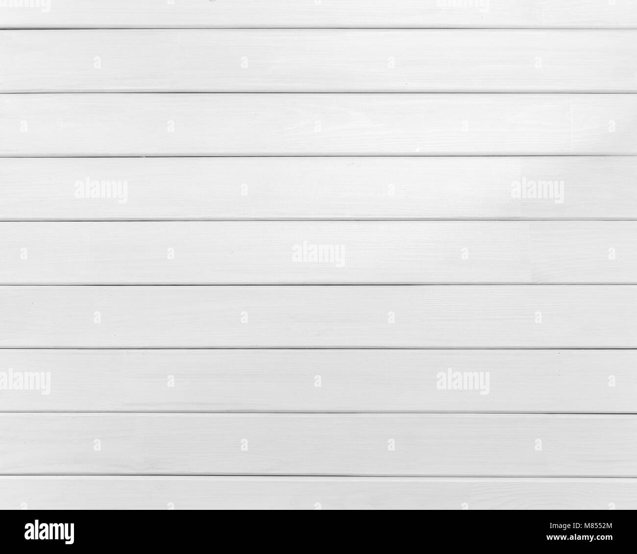 Background of new natural wooden table white color. - Stock Image