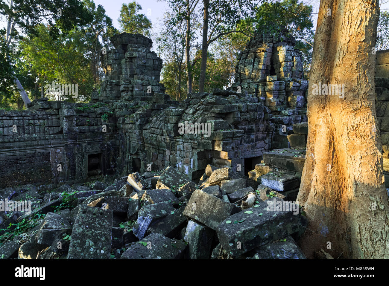 Banteay Chhmar temple, Cambodia - Stock Image