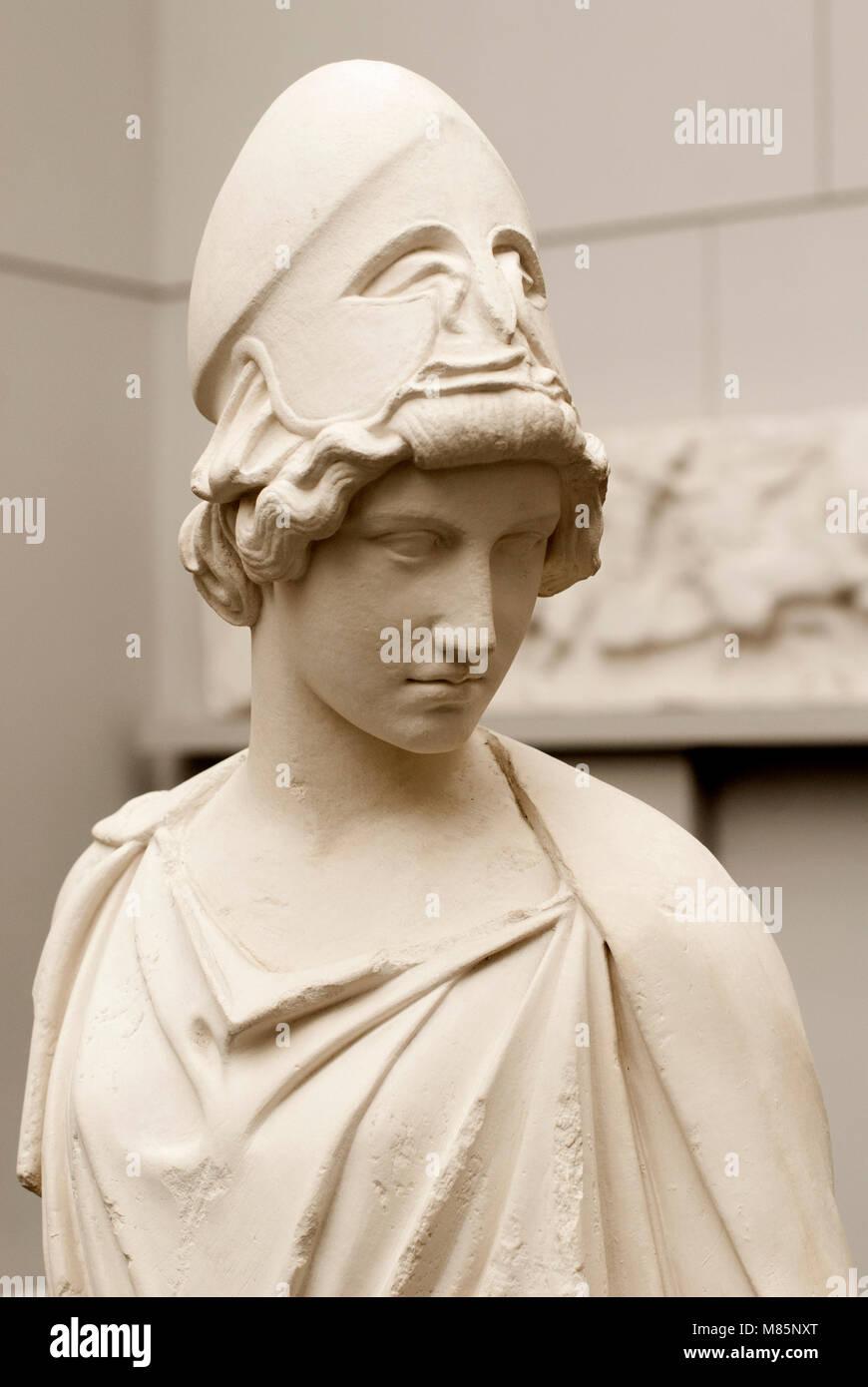 The Myron Athena, Staatliche Antikensammiungen Munich Stock Photo
