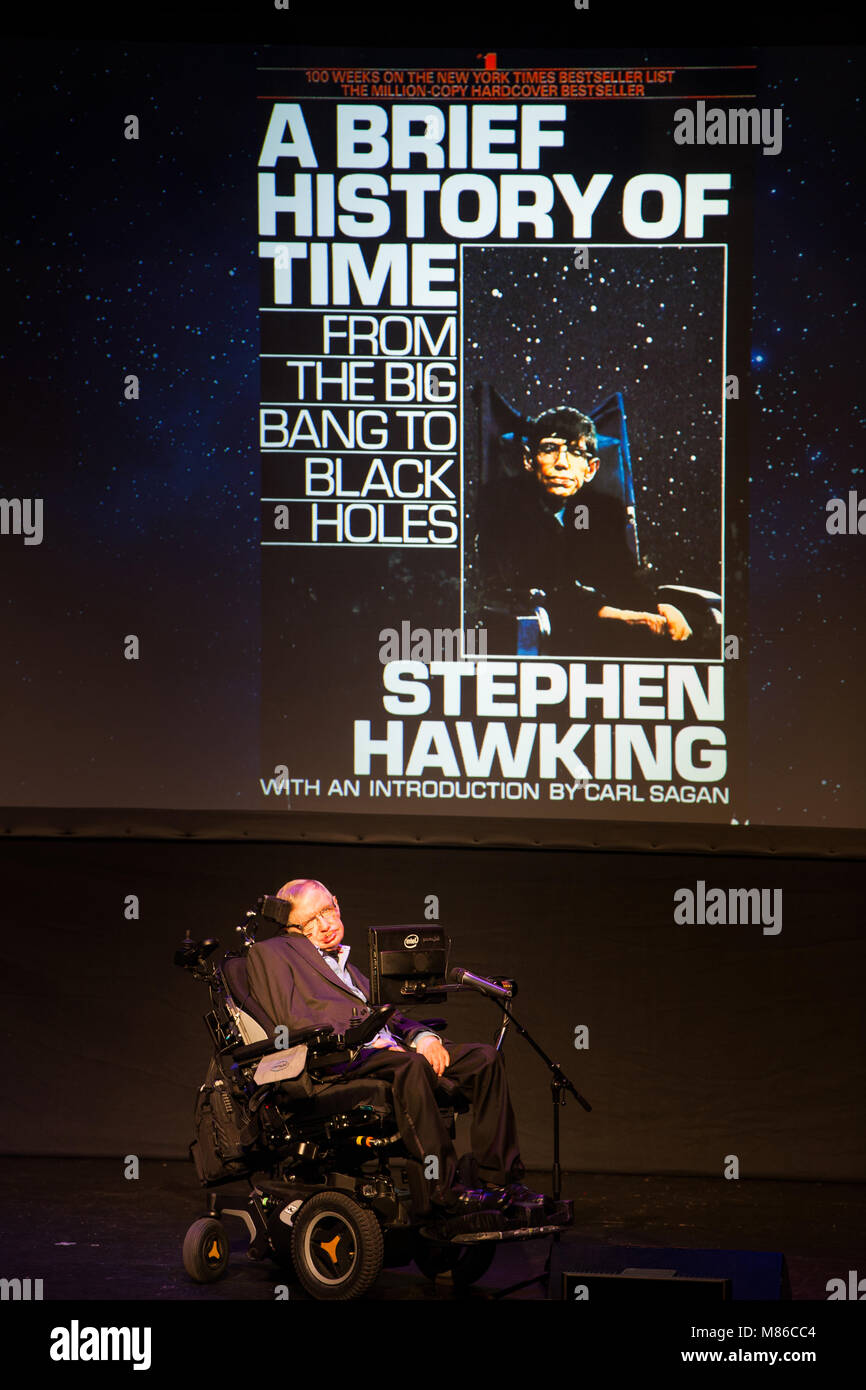 Prof Stephen Hawking British Scientist World Renowned