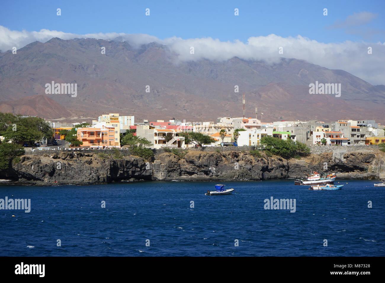 Porto Novo, Santo Antao Island, Cape Verde - Stock Image