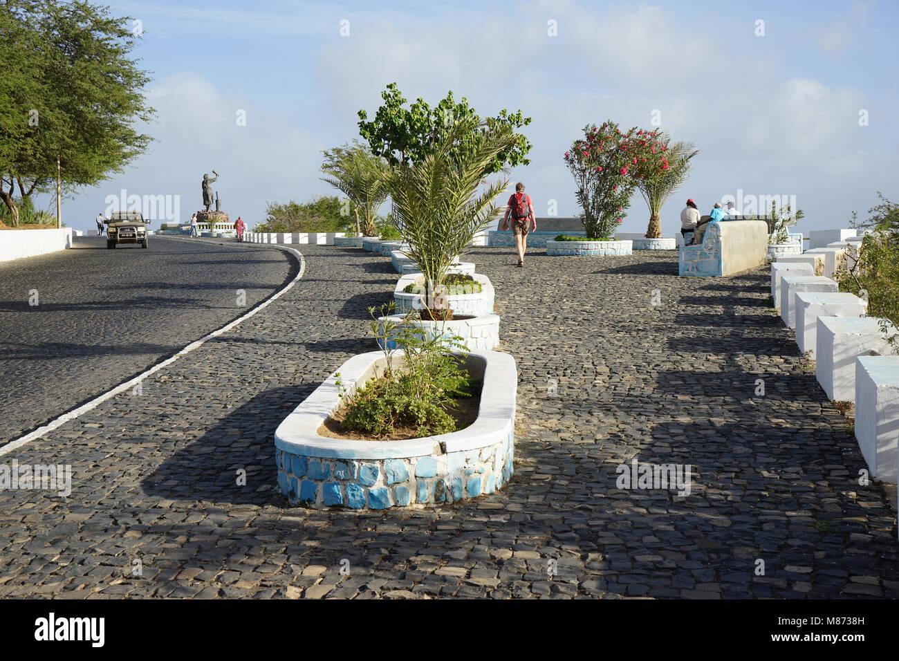 Promende, Porto Novo, Santo Antao Island, Cape Verde - Stock Image
