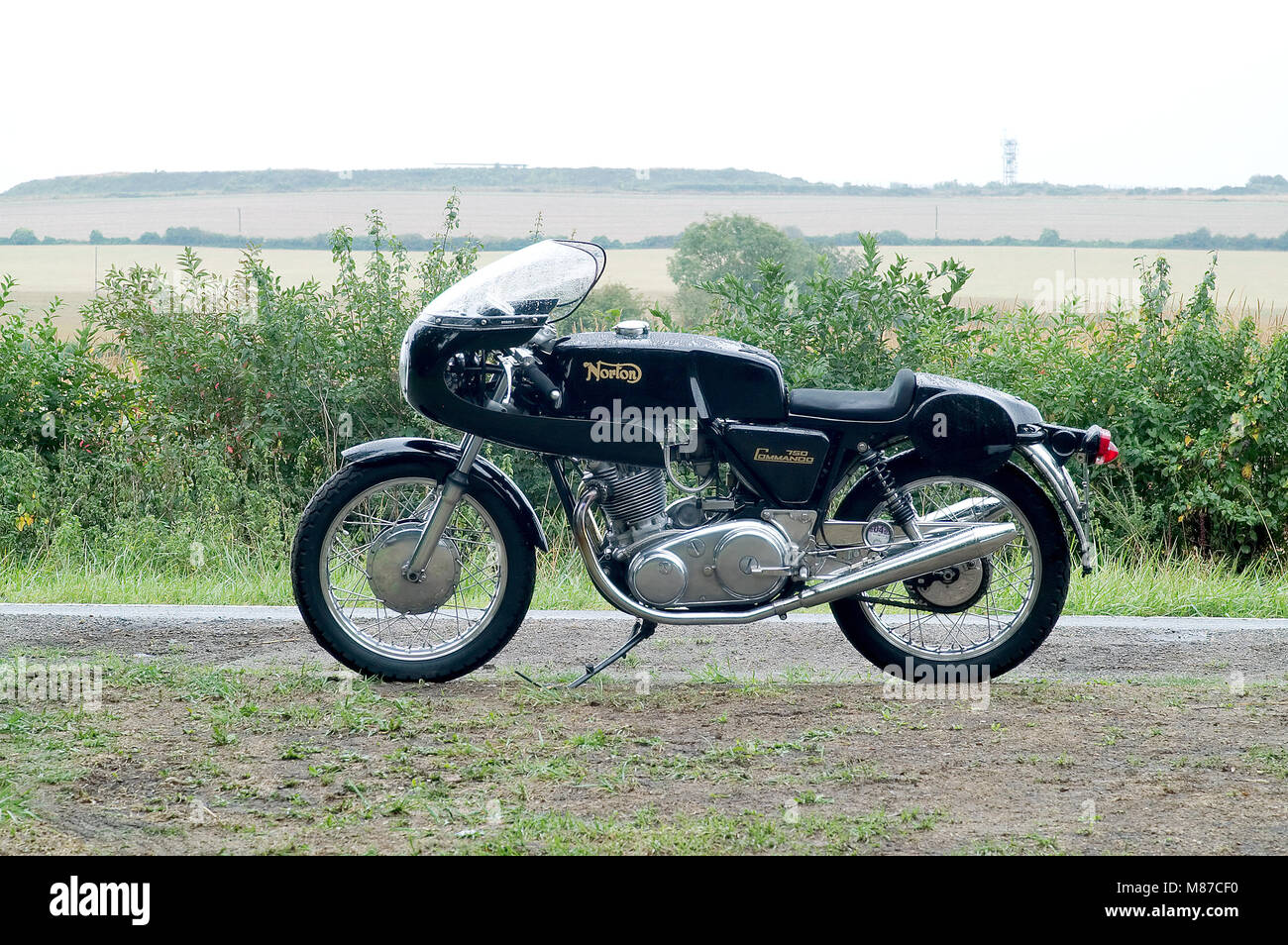 Norton Commando Cafe Racer High Resolution Stock Photography And Images Alamy