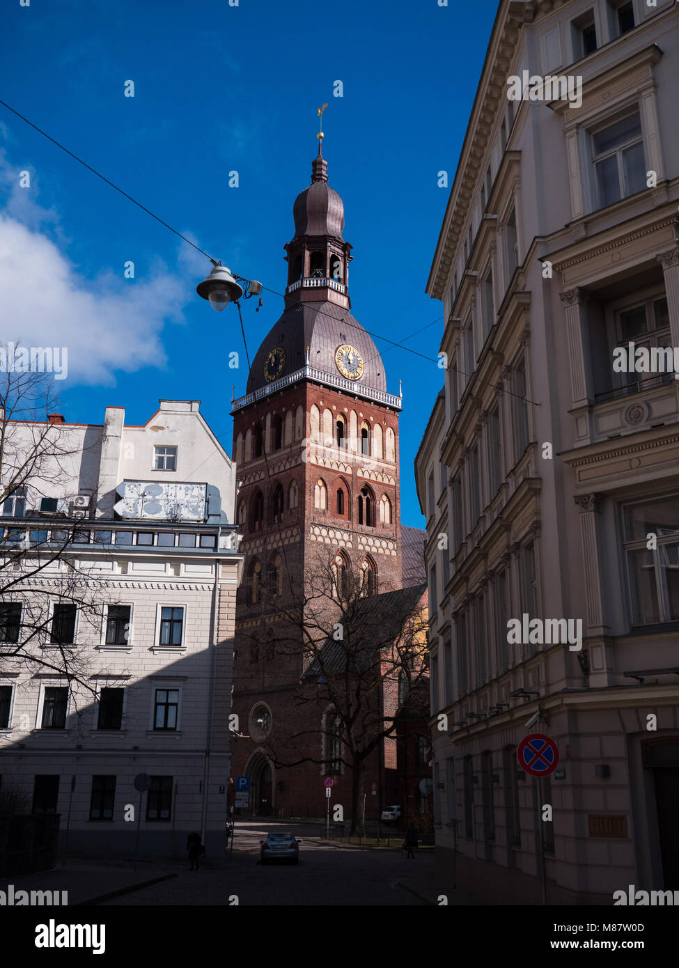 Riga Dome Cathedral, build in 12th century. - Stock Image