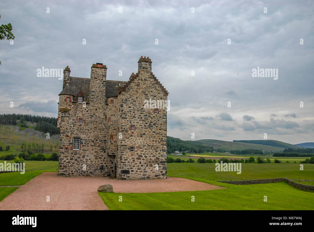 Castillo Escoces - Stock Image