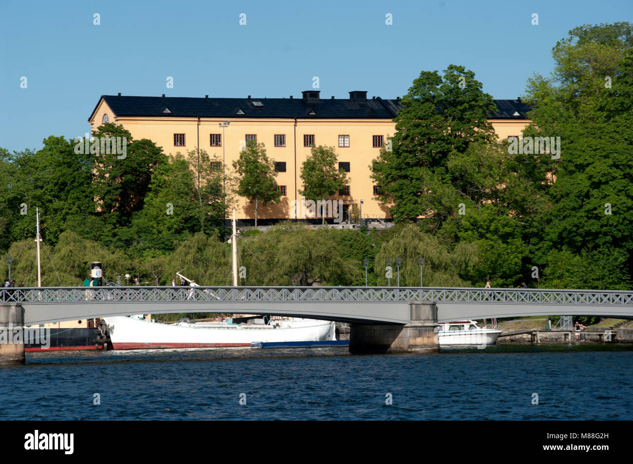 Stockholm, Skeppsholmen, Museum of Far Eastern Antiquities, Sweden, - Stock Image