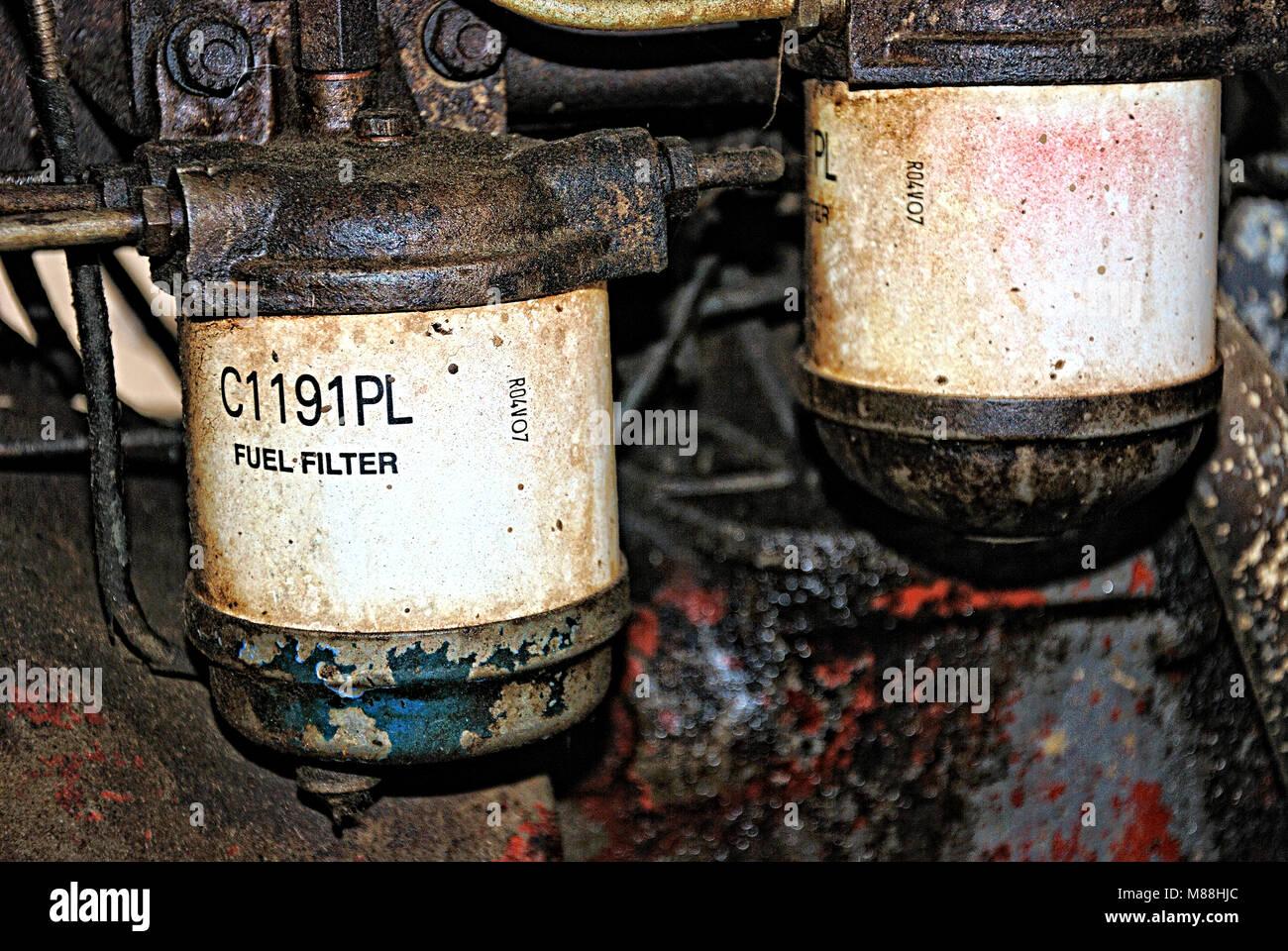 Fuel Filter Stock Photos Images Alamy Perkins Filters A C1191pl Image