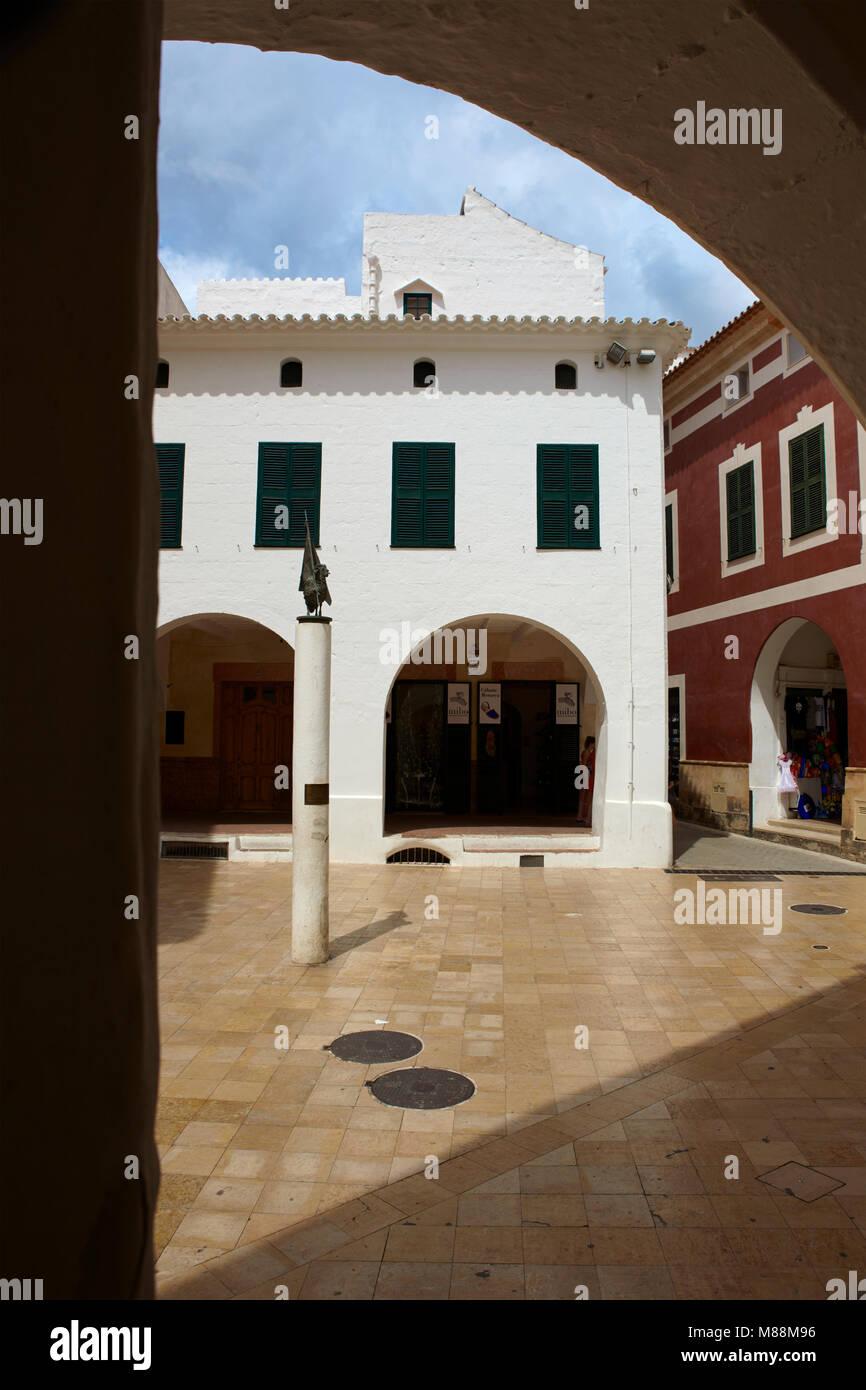 Ciutadella de Minorca, Minorca, Balearic Islands, Spain - Stock Image