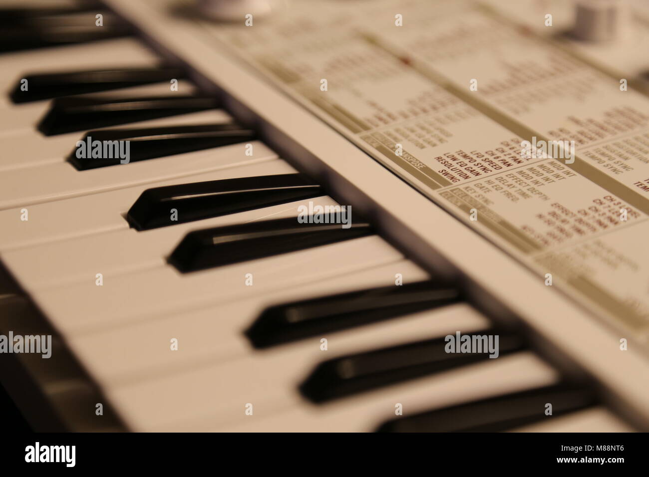 Korg Microkorg S Synthesizer - Stock Image