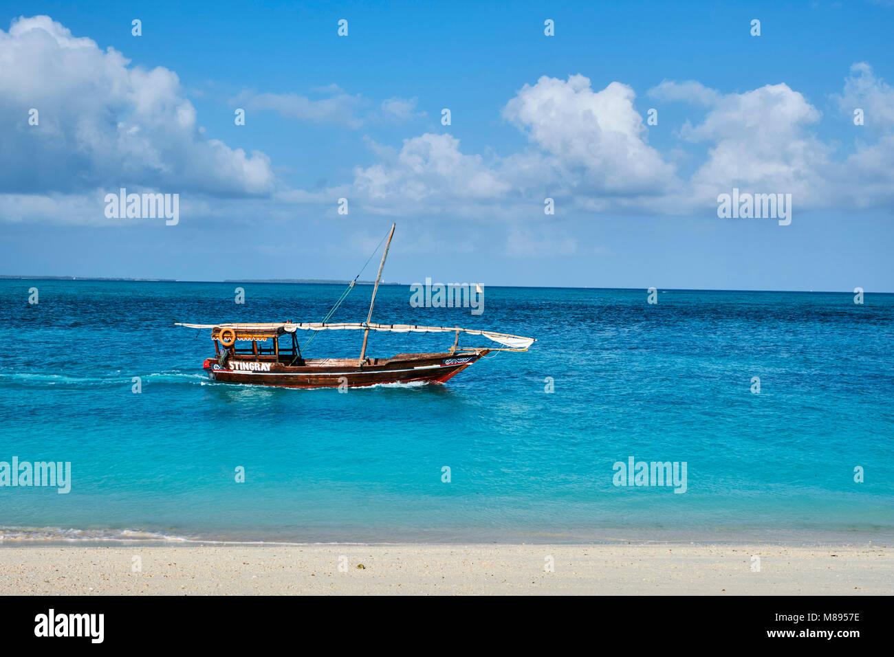 Tanzania, Zanzibar island, Unguja, Nungwi beach - Stock Image