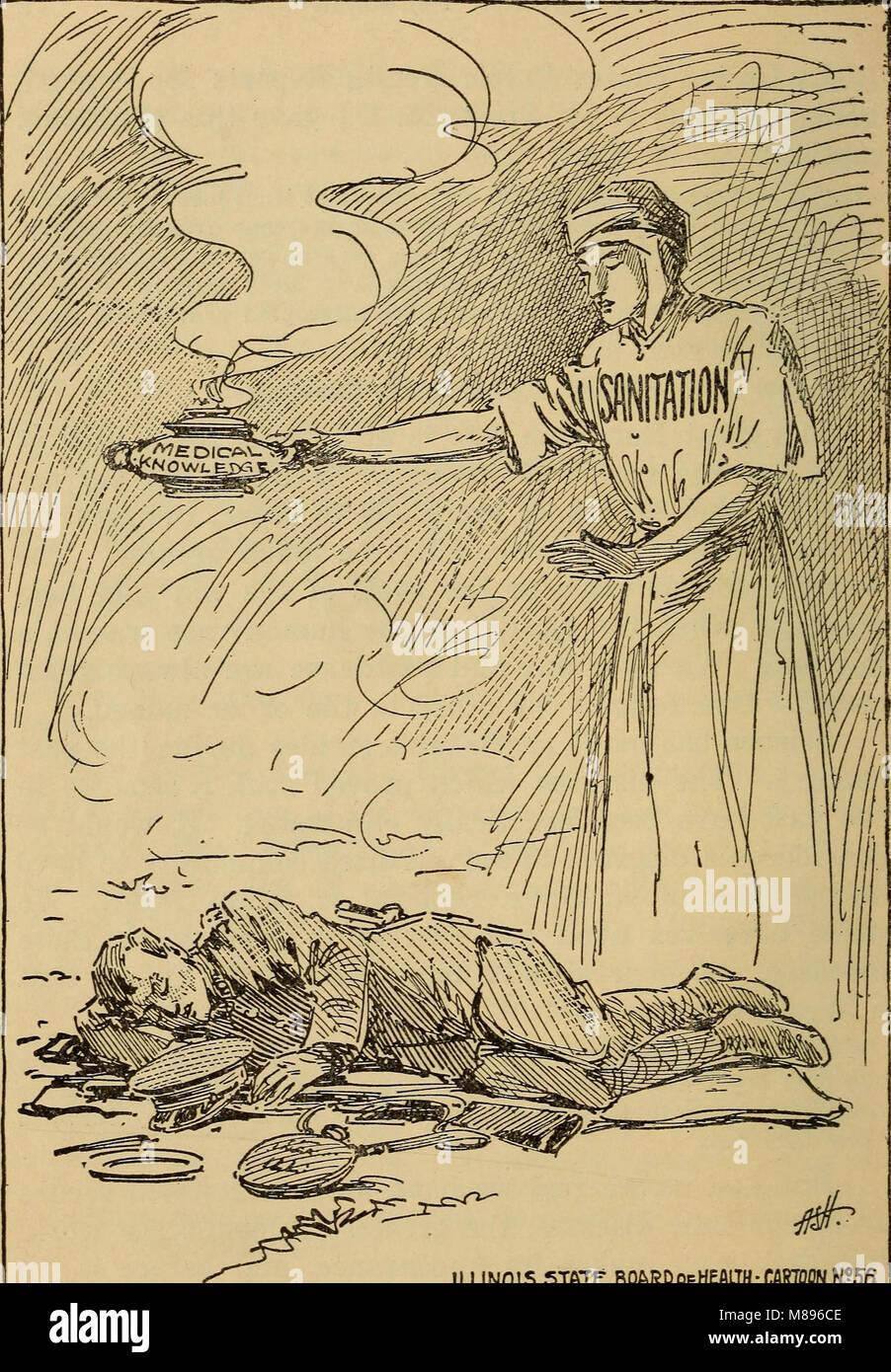 Epidemics; how to meet them (1919) (14591041040) - Stock Image