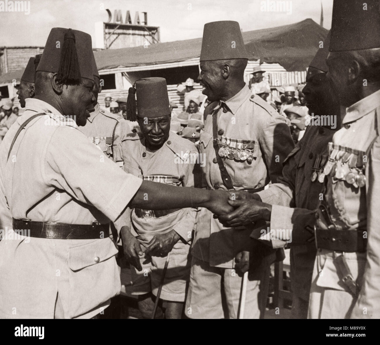 Soldiers In Kenya, Veterans Of The