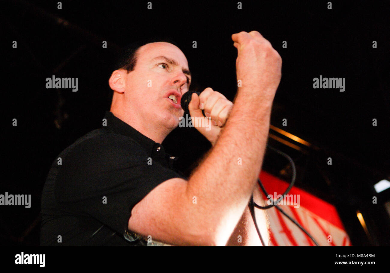 Greg Graffin of Bad Religion performs on stage during the Vans Warped Tour 2007. - Stock Image