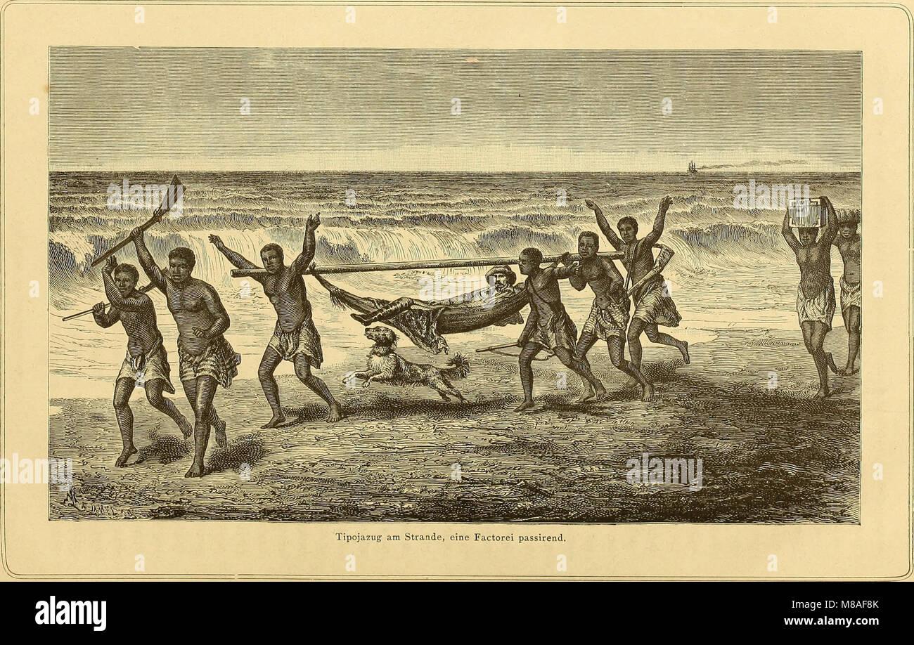 Die Loango-Expedition ausgesandt von der Deutschen Gesellschaft zur Erforschung Aequatorial-Africas, 1873-1876 - ein Reisewerk in drei Abtheilungen (1879) (20311203603) Stock Photo