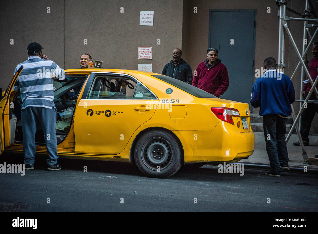 Nyc Taxi Garage Stock Photos & Nyc Taxi Garage Stock Images
