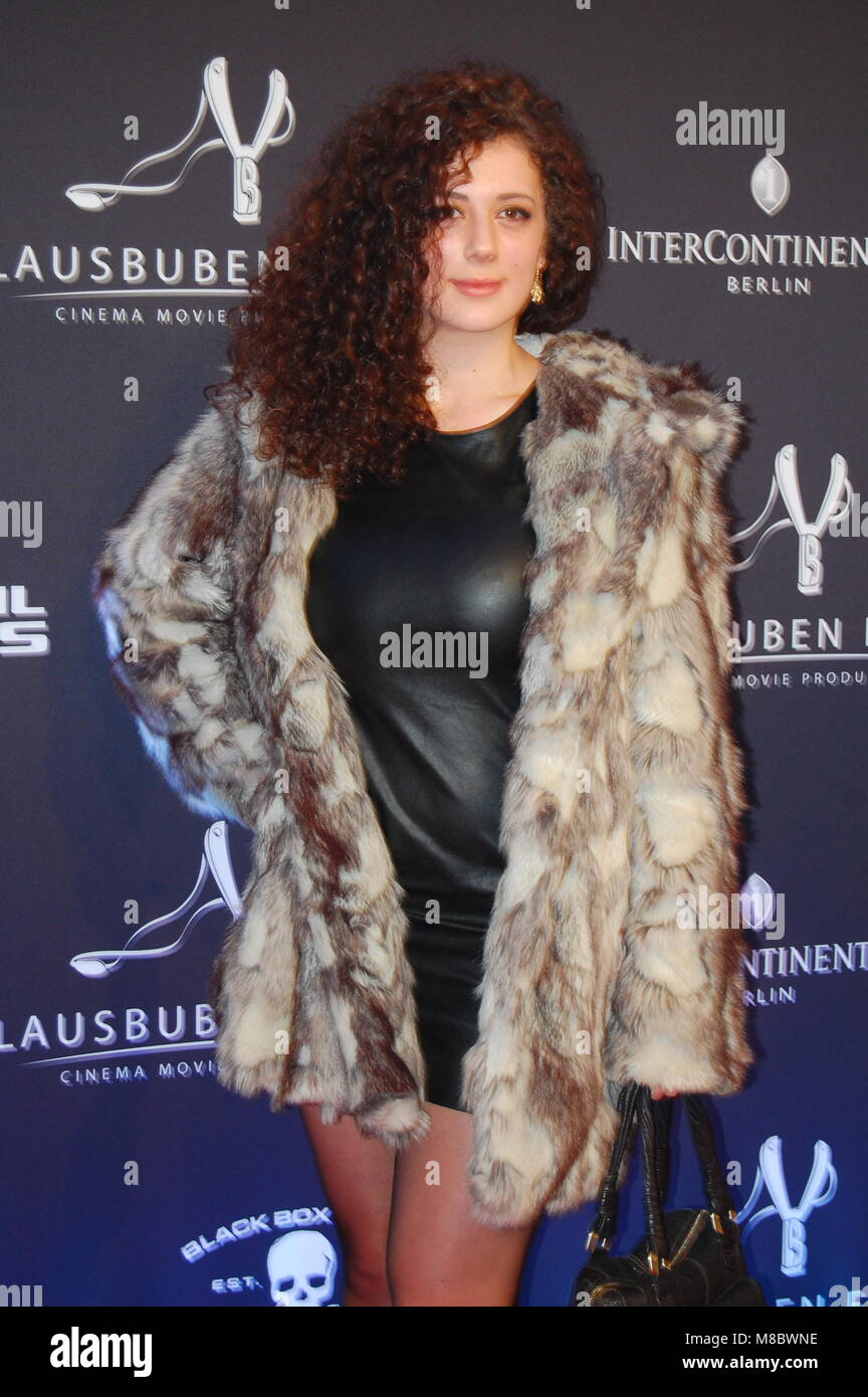 Leila Lowfire (Leila Ziaabadi) -10 Jahre LBFilms - 08.02.2014 - Hotel Intercontinental Berlin Berlinale 2014 Stock Photo