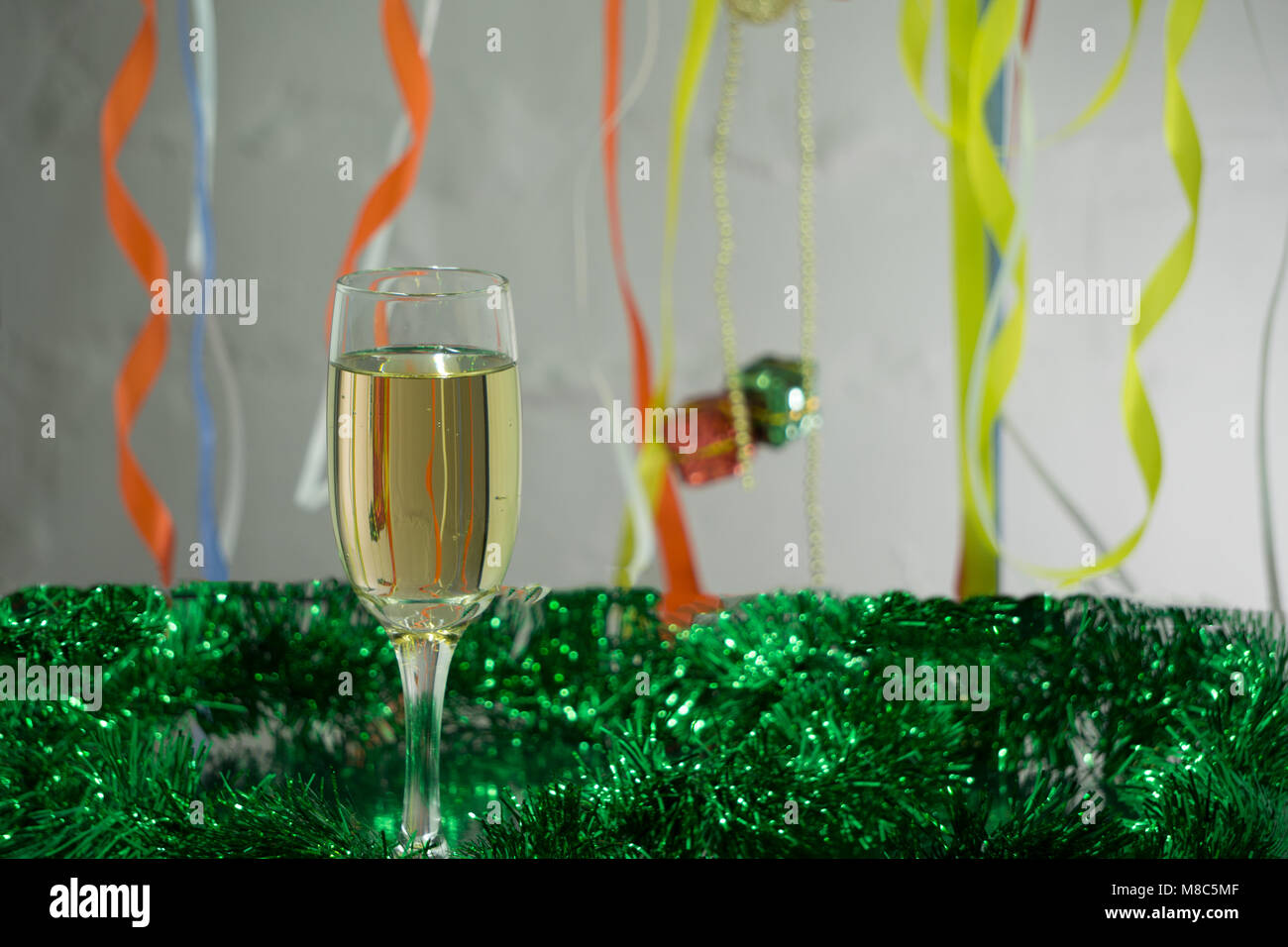 Red And Green Tinsel Stock Photos & Red And Green Tinsel Stock ...