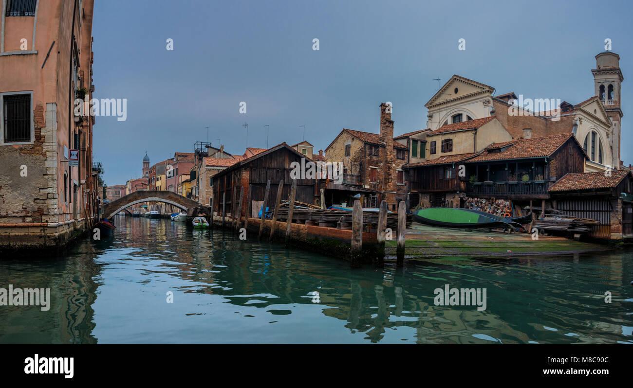 Impressionen aus Venedig Stock Photo