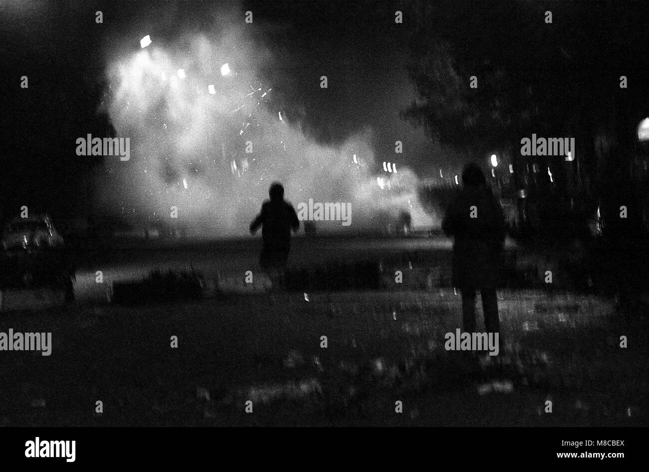 Philippe Gras / Le Pictorium -  May 1968 -  1968  -  France / Ile-de-France (region) / Paris  -  Clashes between - Stock Image