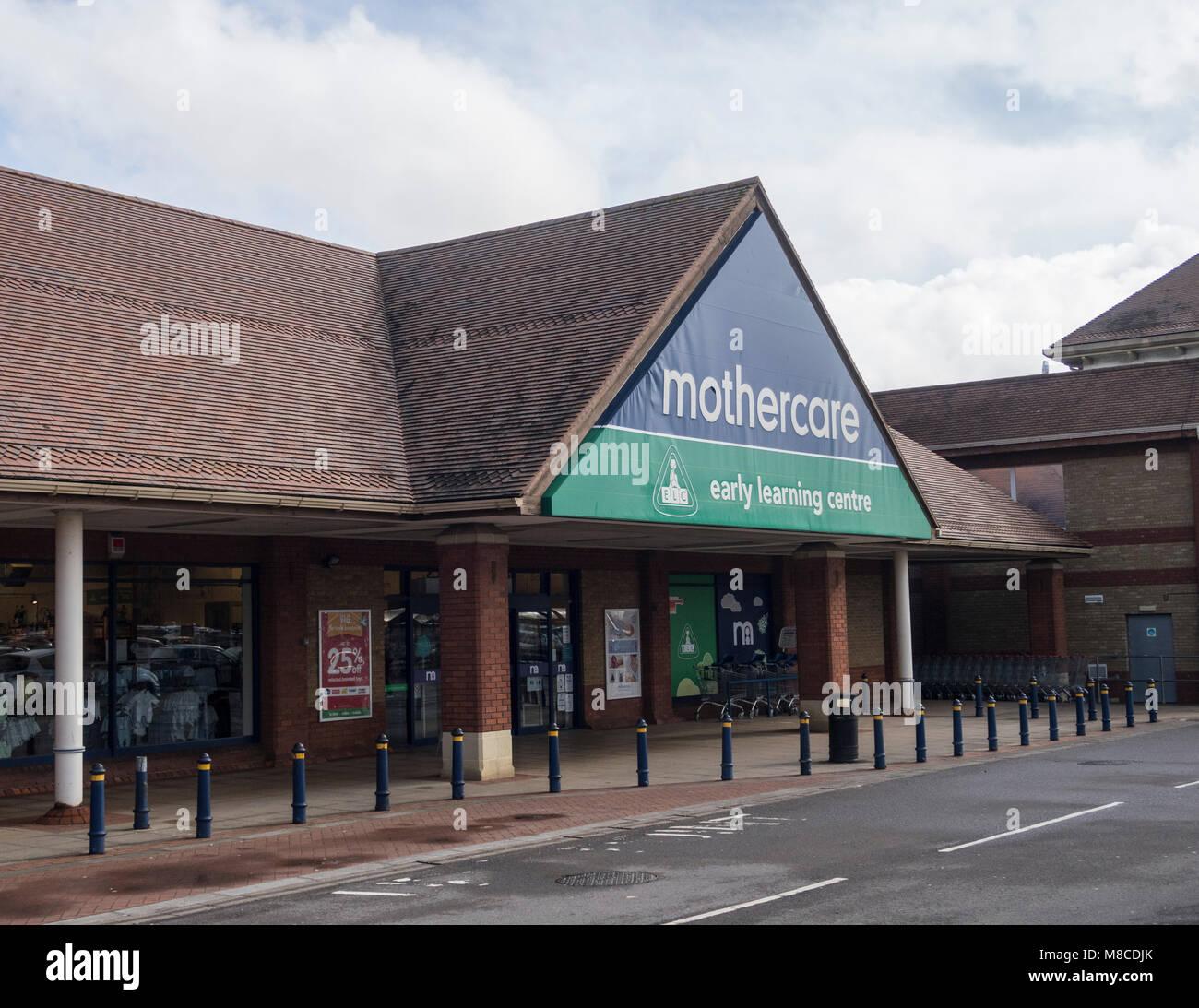 Mothercare store, Hankridge Farm retail park, Taunton, Somerset - Stock Image