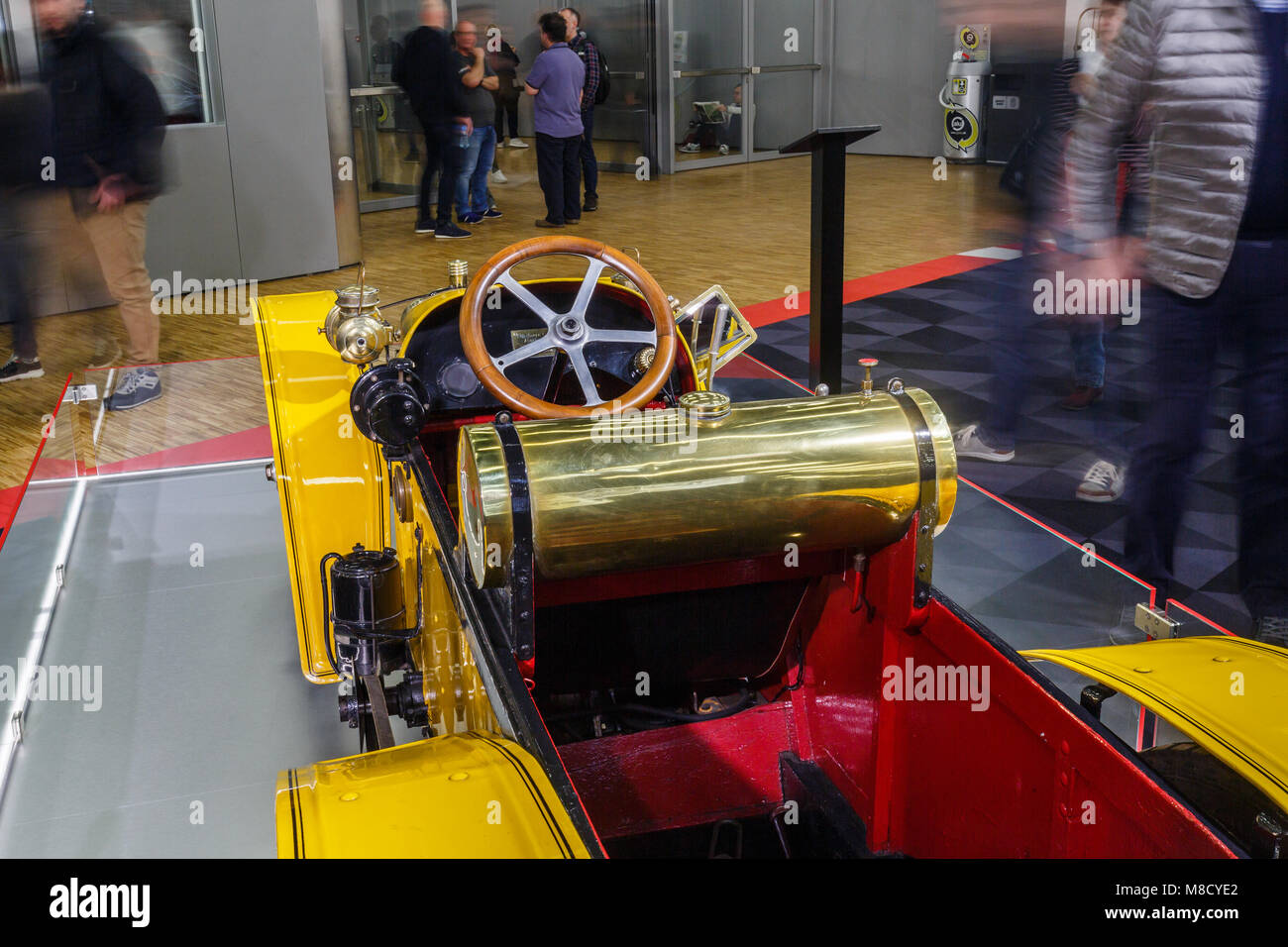 Super Levêque 1911 is the model displayed today is most certainly the last car remaining from the 26 manufactured Stock Photo