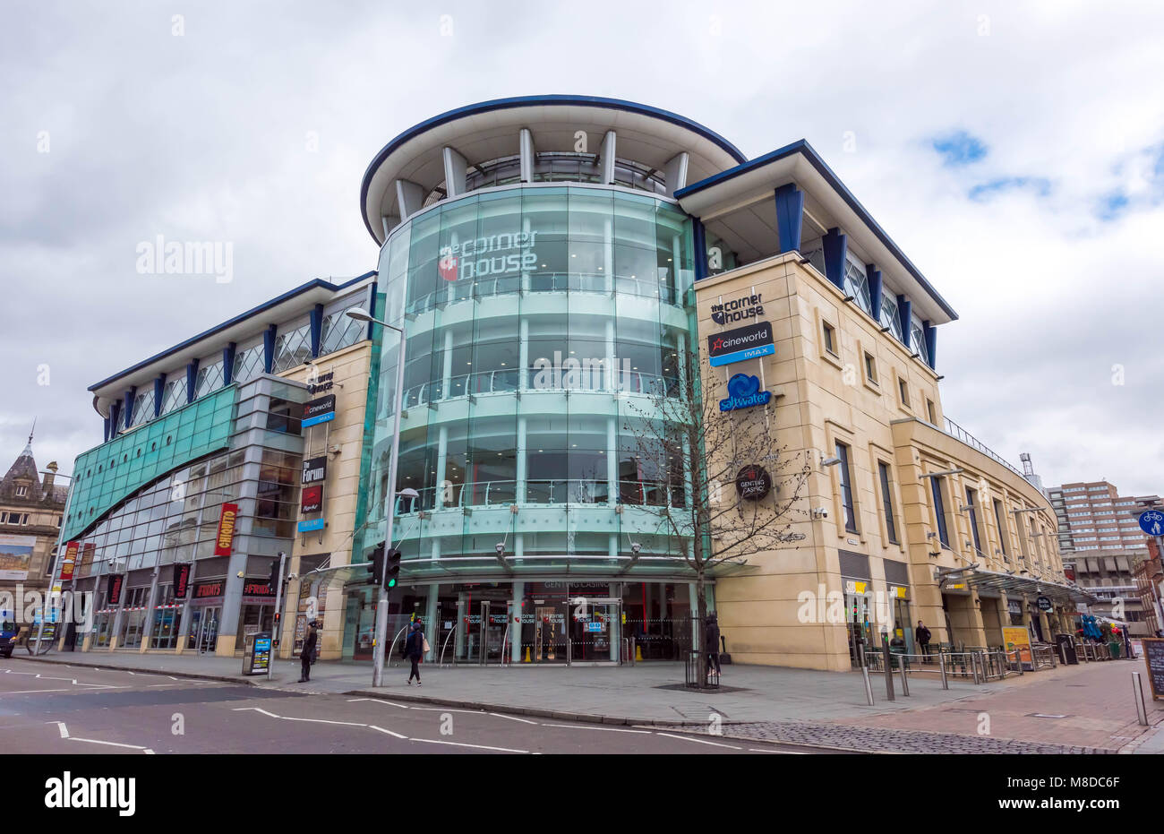 Corner House in Nottingham - England - Stock Image