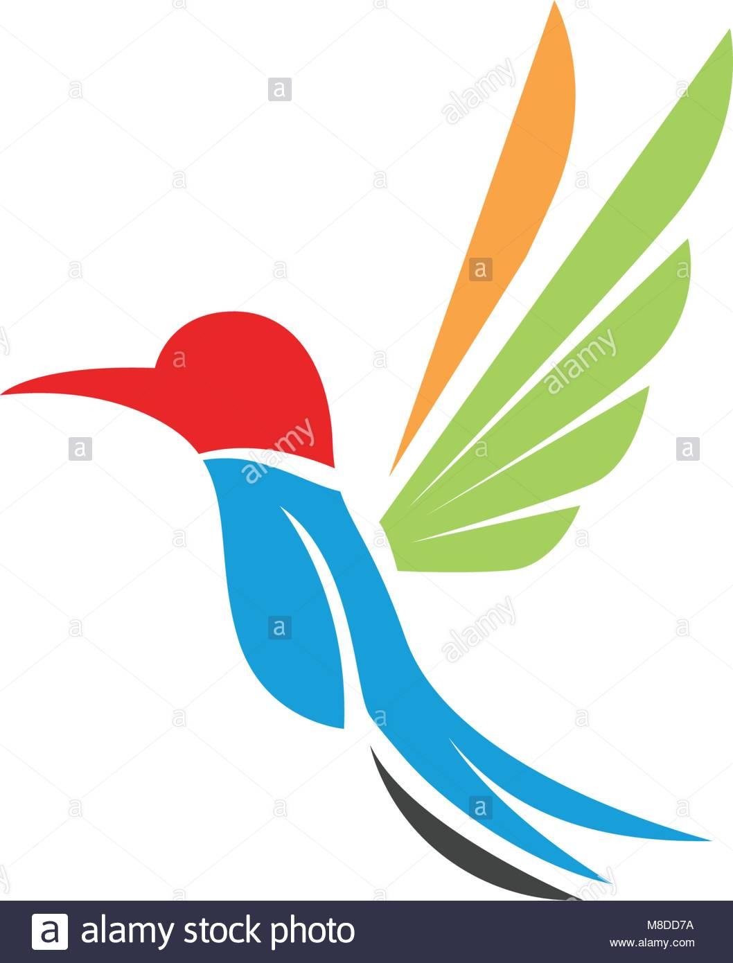 Simplistic vector vectors stock photos simplistic vector vectors hummingbird icon logo and symbols template vector stock image biocorpaavc Images