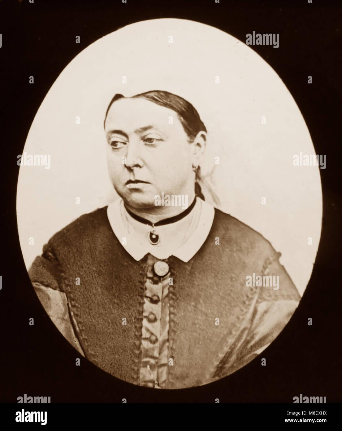Queen Victoria, Victorian period - Stock Image