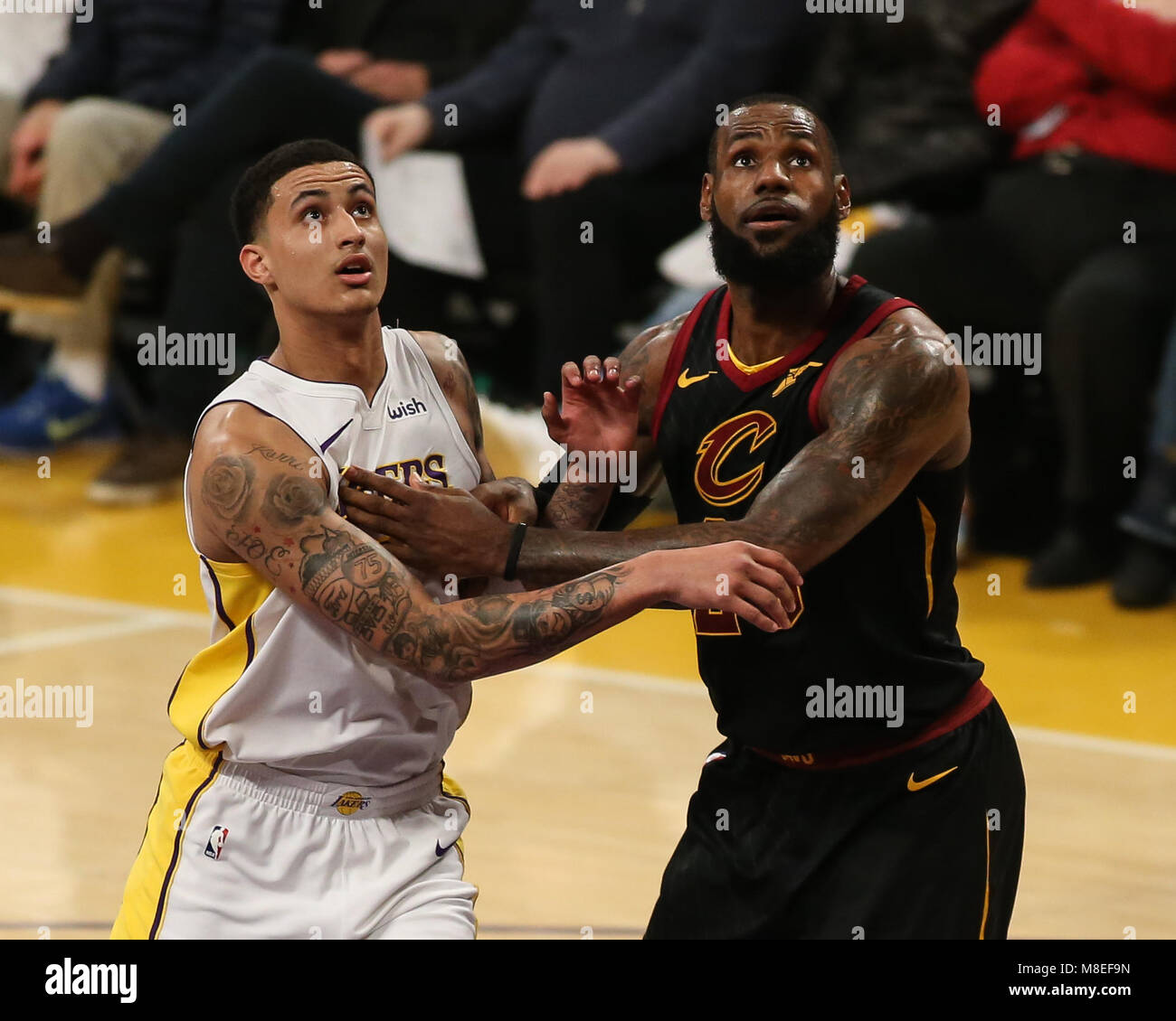 Cavaliers Vs Lakers 2018 >> Los Angeles Ca Usa 11th Mar 2018 Cleveland Cavaliers