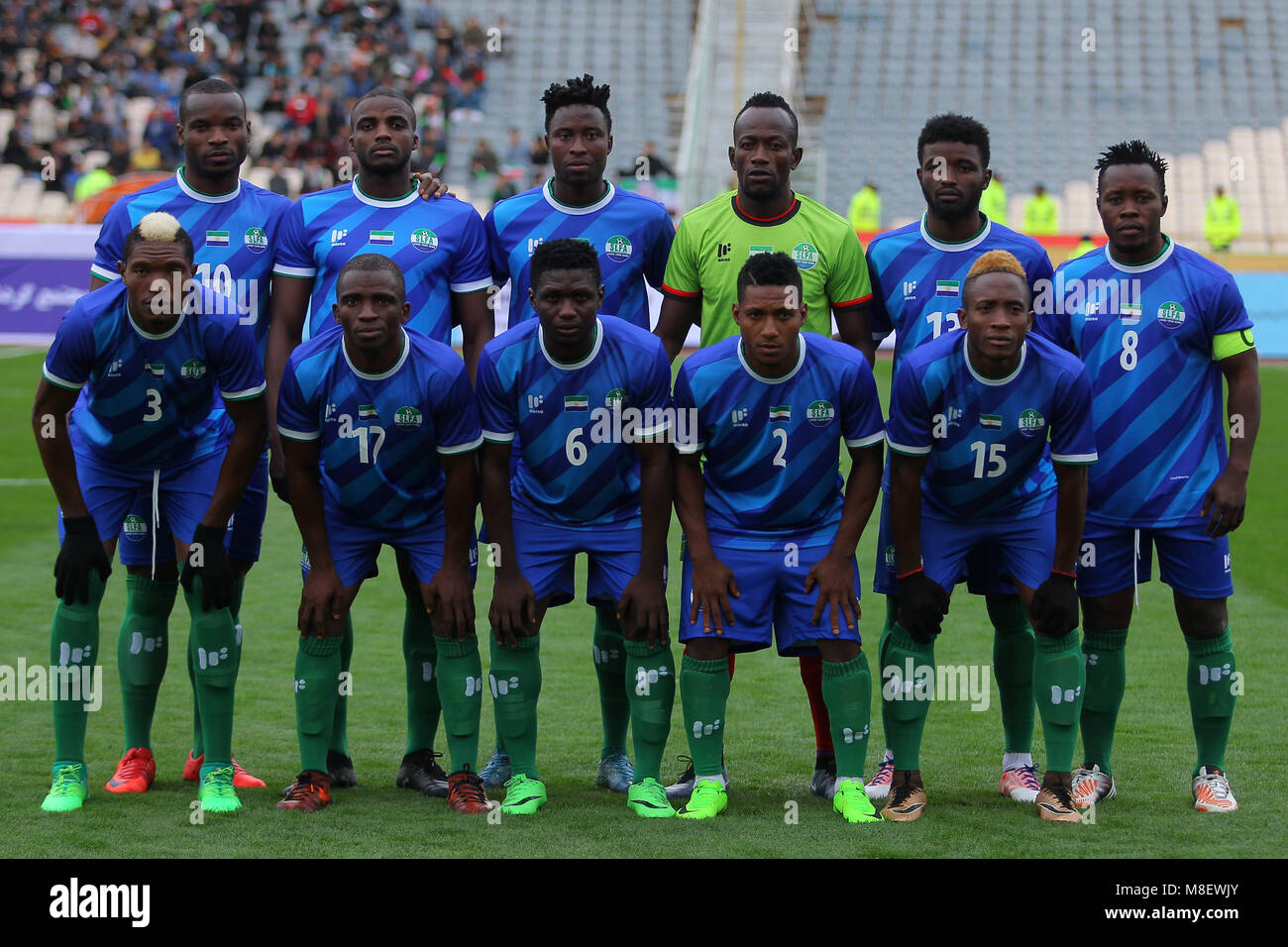 17 March , 2018 Friendly Match ,Iran vs Sierra Leone at ...