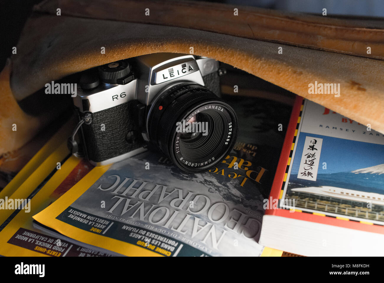 Leica Stock Photos Images Alamy Digital Camera Diagram Film My Journey R6 Ready For The Image