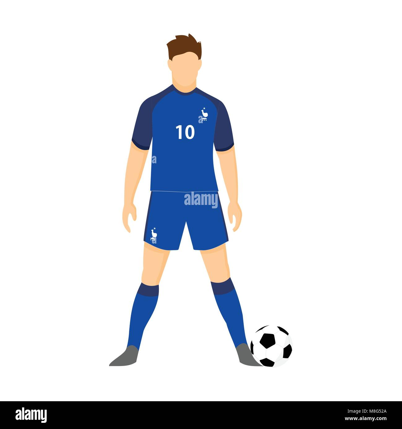 quality design 80b61 fa4d7 France Football Jersey National Team World Cup Vector ...