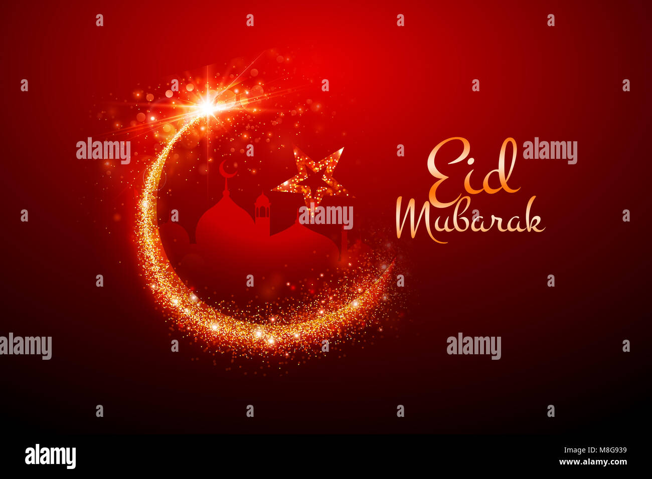 Eid Greetings Stock Photos Eid Greetings Stock Images Alamy